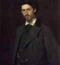 Kramskoi Portrait of the Artist Ilya Repin