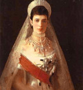 Kramskoi Portrait of the Empress Maria Feodorovna