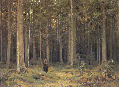 shishkin ivan the forest of countess mordvinova