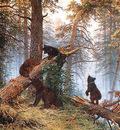 shishkin ivan morning in the pine tree forest