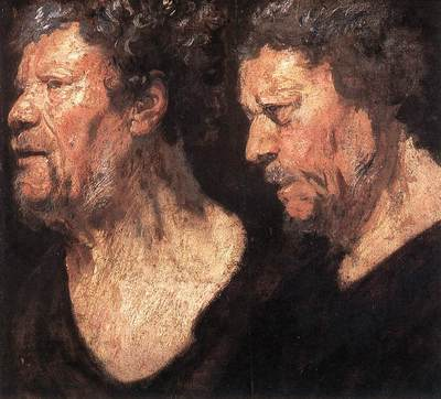 Studies of the Head of Abraham Grapheus WGA