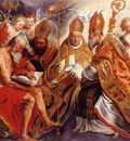 Jordaens Jacob The Four Fathers Of The Latin Church