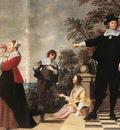 OOST Jacob van the Elder Portrait Of A Bruges Family