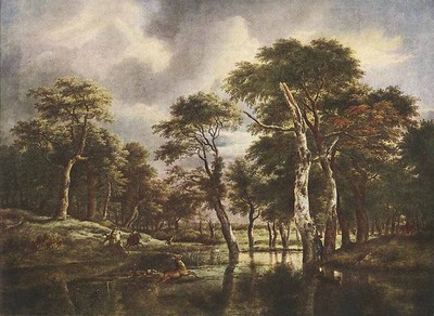 RUISDAEL Jacob Isaackszon van The Hunt