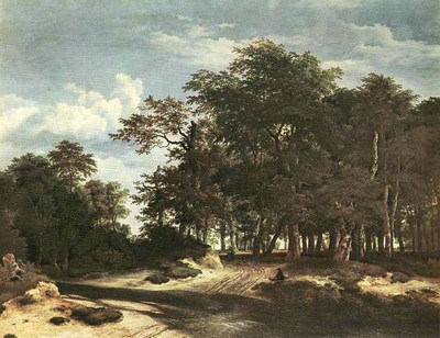 RUISDAEL Jacob Isaackszon van The Large Forest