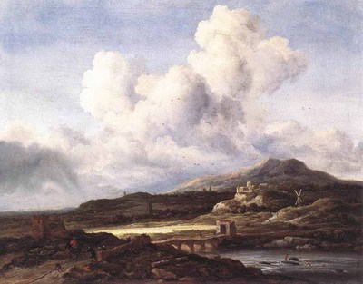 RUISDAEL Jacob Isaackszon van The Ray Of Sunlight