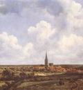 RUISDAEL Jacob Isaackszon van Landscape With Church And Village