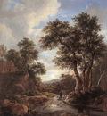 RUISDAEL Jacob Isaackszon van Sunrise In A Wood