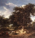 RUISDAEL Jacob Isaackszon van The Great Oak