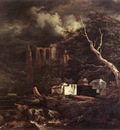 RUISDAEL Jacob Isaackszon van The Jewish Cemetary