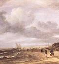 RUISDAEL Jacob Isaackszon van The Shore At Egmond an Zee