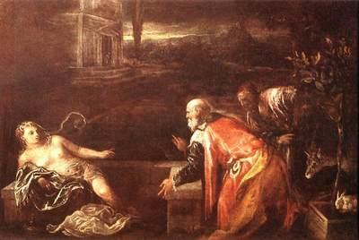 BASSANO Jacopo Susanna And The Elders