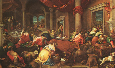 BASSANO Jacopo The Purification Of The Temple