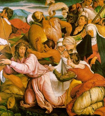 BASSANO Jacopo The Way To Calvary