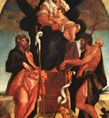BASSANO Jacopo Madonna And Child With Saints