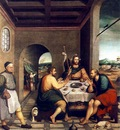 BASSANO Jacopo Supper At Emmaus