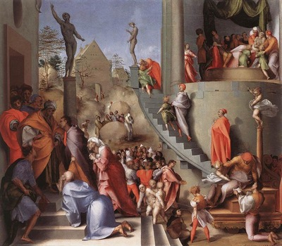 PONTORMO Jacopo Joseph In Egypt