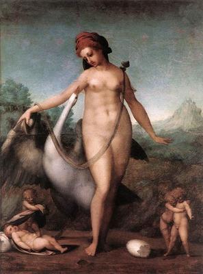 PONTORMO Jacopo Leda And The Swan