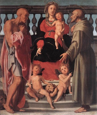 PONTORMO Jacopo Madonna And Child With Two Saints