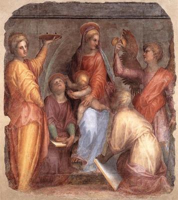 PONTORMO Jacopo Sacra Conversazione