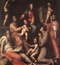 PONTORMO Jacopo Madonna And Child With Saints