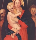 PONTORMO Jacopo Madonna And Child With St Joseph And Saint John The Baptist