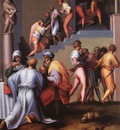 PONTORMO Jacopo Punishment Of The Baker