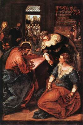 Christ in the House of Martha and Mary WGA