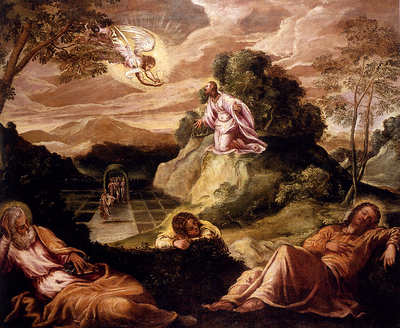 Robusti Jacopo Agony In The Garden