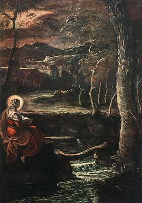 Tintoretto St Mary of Egypt