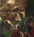Tintoretto Baptism of Christ detail1