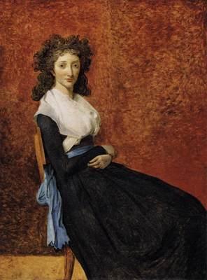 DAVID Jacques Louis Madame Trudaine