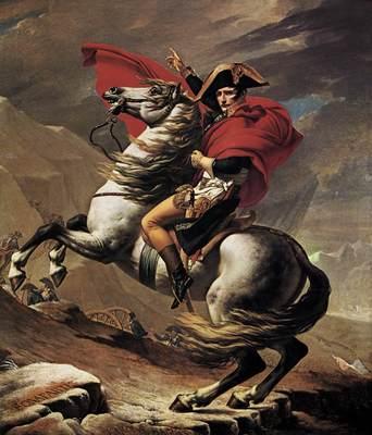 DAVID Jacques Louis Napoleon at the St  Bernard Pass