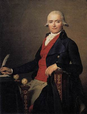 DAVID Jacques Louis Portrait of Gaspar Mayer