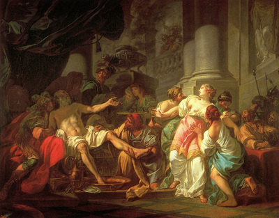 David Jacques Louis The Death of Seneca