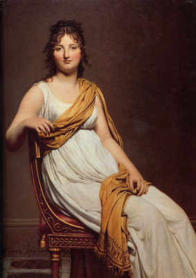 David Portrait of Henriette de Verninac