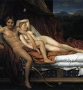 DAVID Jacques Louis Cupid and Psyche