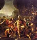 DAVID Jacques Louis Leonidas at Thermopylae
