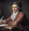 DAVID Jacques Louis Portrait of Doctor Alphonse Leroy
