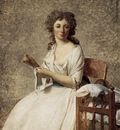 DAVID Jacques Louis Portrait of Madame Adelaide Pastoret