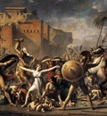 DAVID Jacques Louis The Intervention of the Sabine Women