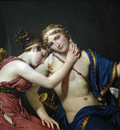 David Jacques Louis The Farewell of Telemachus and Eucharis