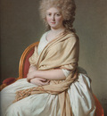 David Portrait of Anne Marie Louise Thelusson