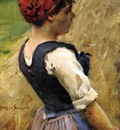 Beckwith James Carroll Normandy Girl
