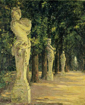 Beckwith James Carroll Allee de l Ete Versailles