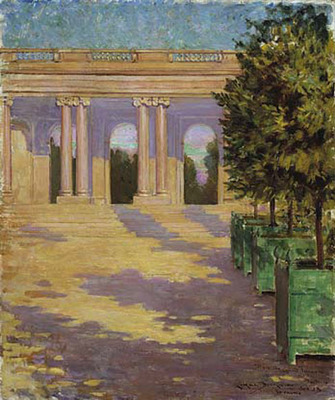 Beckwith James Carroll Arcade of the Grand Trianon Versailles