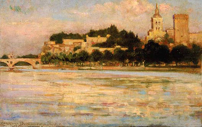 Beckwith James Carroll The Palace of the Popes and Pont d Avignon
