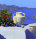 Childs James Morning Offering Santorini