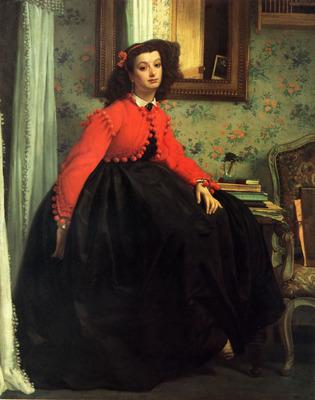 Portrait of Mlle L L