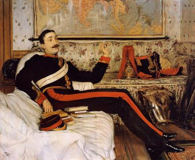 Tissot James Jacques Captain Frederick Gustavus Burnaby